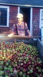Andy Brennan of Aaron Burr Cidery