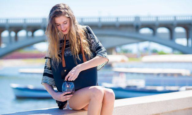 Wine in a Purse