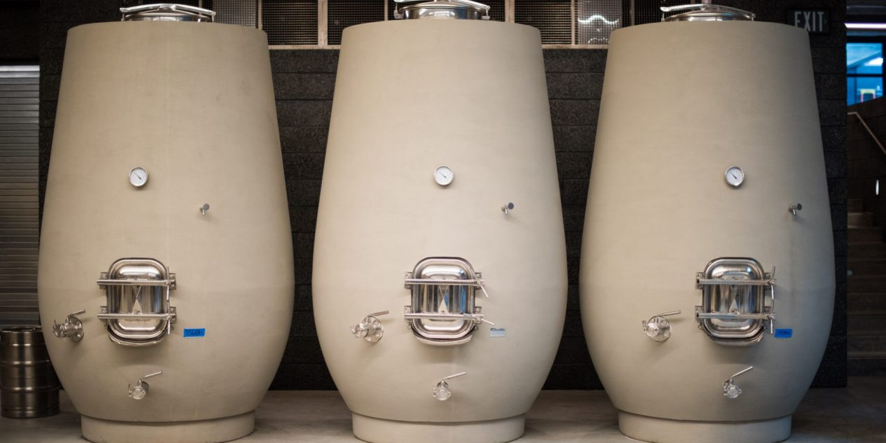 Hard Choices: Amphorae and concrete tanks give beverage producers new, old options.