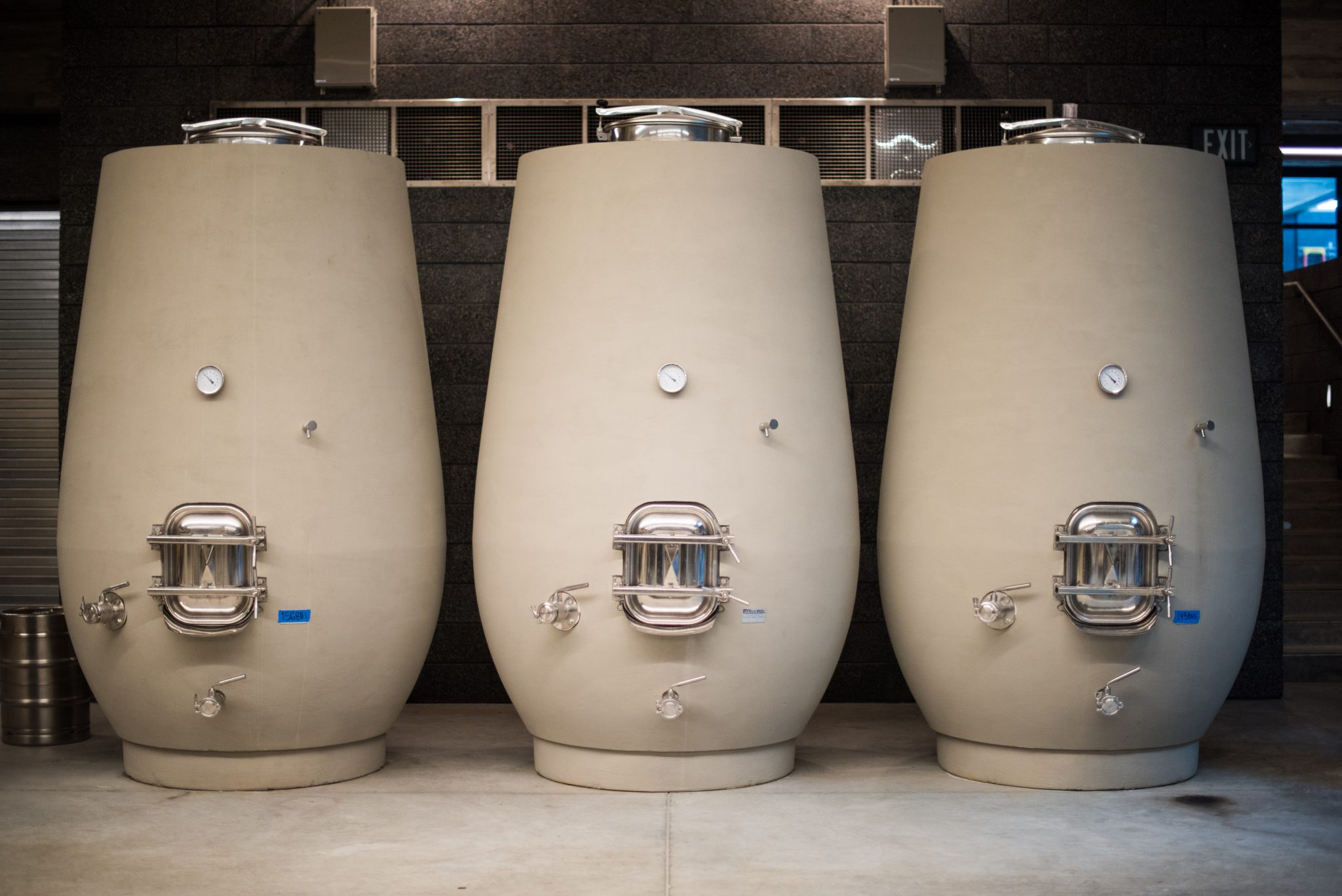 Hard Choices: Amphorae and concrete tanks give beverage
