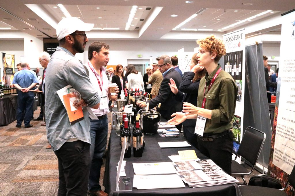 47fca7e6a761 Scenes from the 2017 International Bulk Wine   Spirits Show ...
