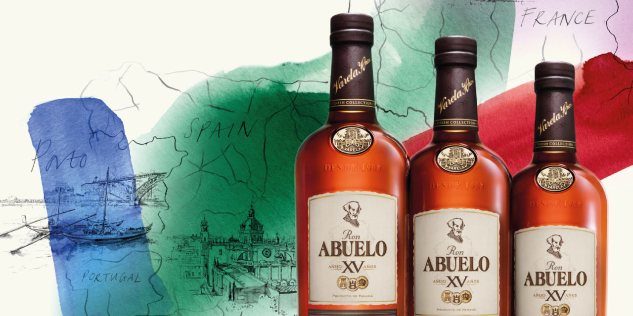 Ron Abuelo's global launch of The Finish Collection, Panamanian rums with pioneering souls