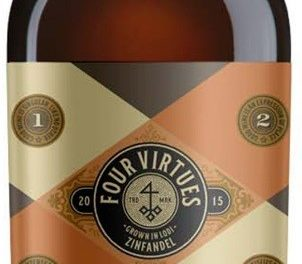 Introducing Four Virtues Bourbon Barrel Zinfandel