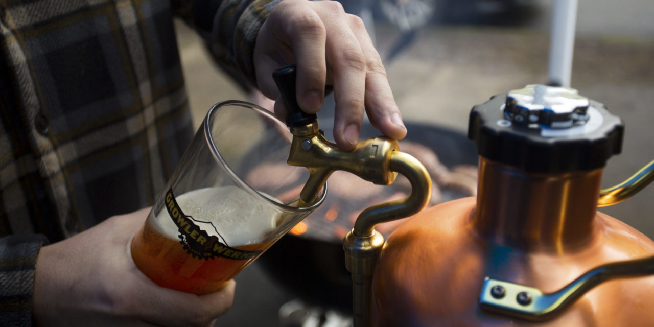 GrowlerWerks' uKeg makes tailgating, homegating Super Easy