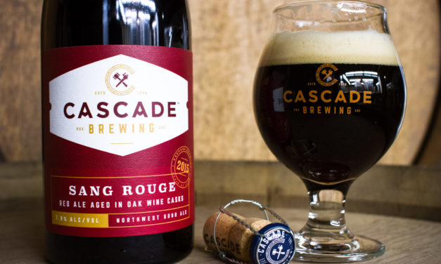 Cascade Brewing releases Sang Rouge 2015 in bottle and draft