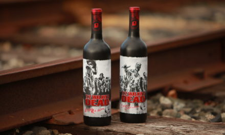 Watch The Dead Rise On The Walking Dead Wine Labels