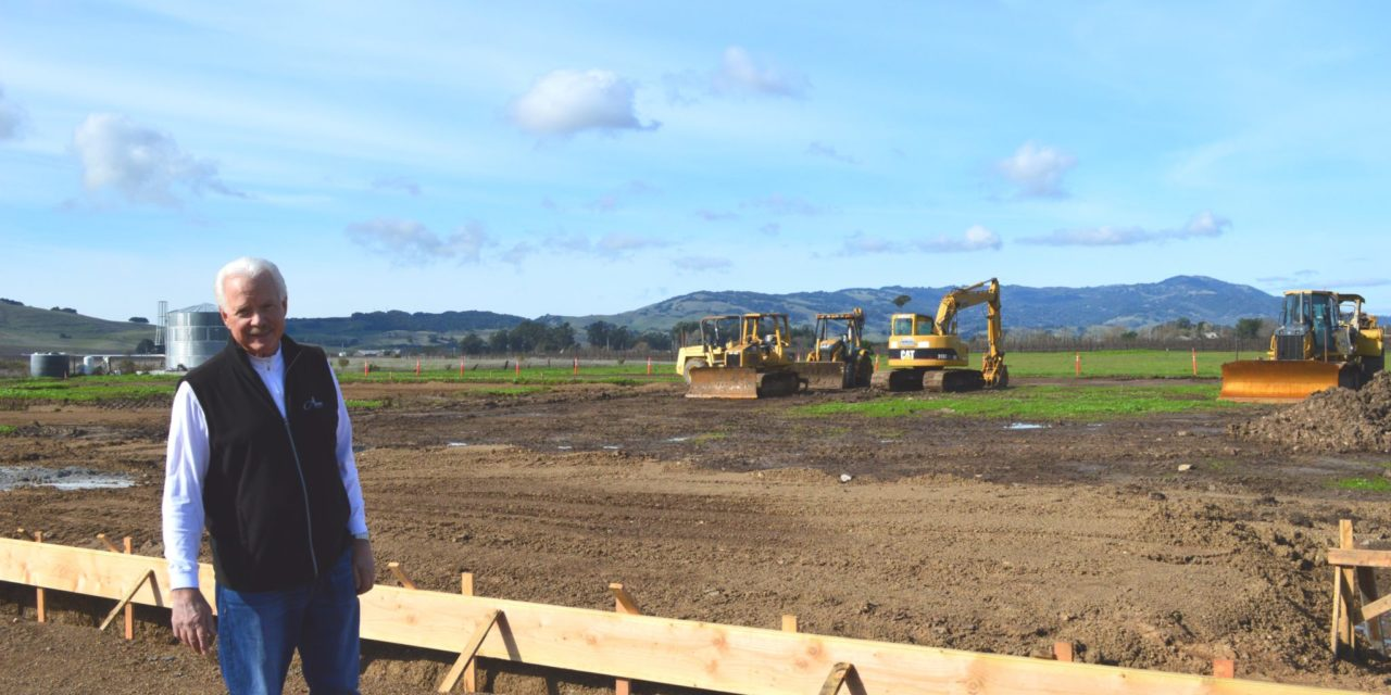 Anaba Wines Breaks Ground on New Winery and Tasting Room