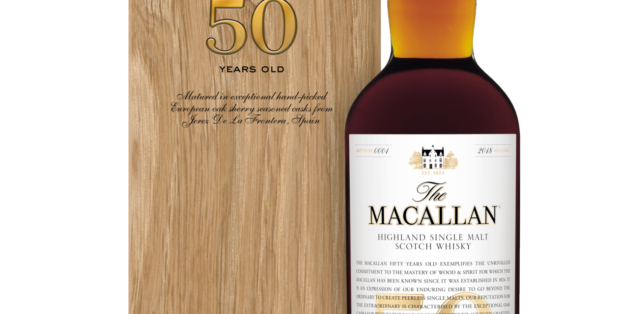INTRODUCING THE MACALLAN 50 YEARS OLD: A JOURNEY OF DISCOVERY IN THE MODERN ERA