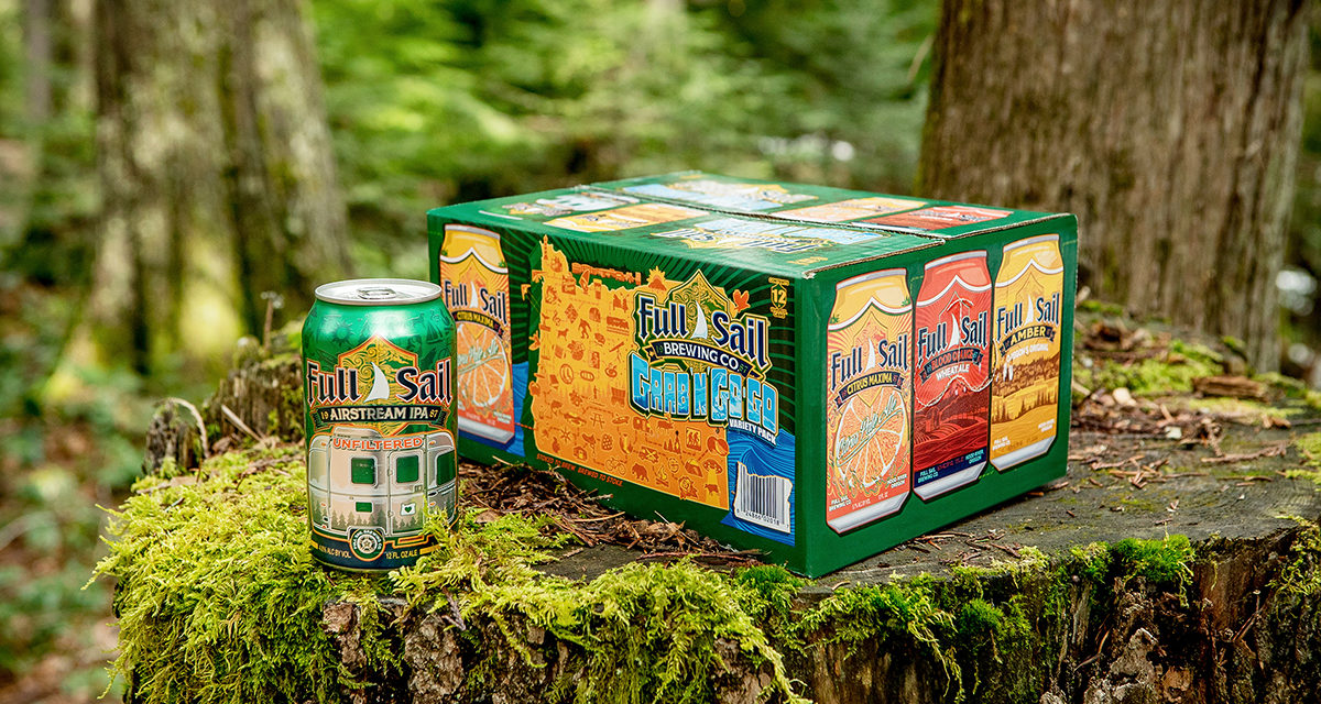 Full Sail's New Grab 'n' Go-Go Variety Can Pack is Brewed for Adventure