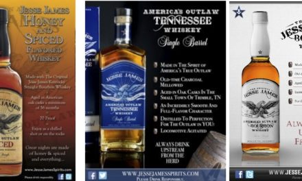 Craft Whiskey Spurs Growth for Jesse James America's Outlaw Whiskey & Bourbon