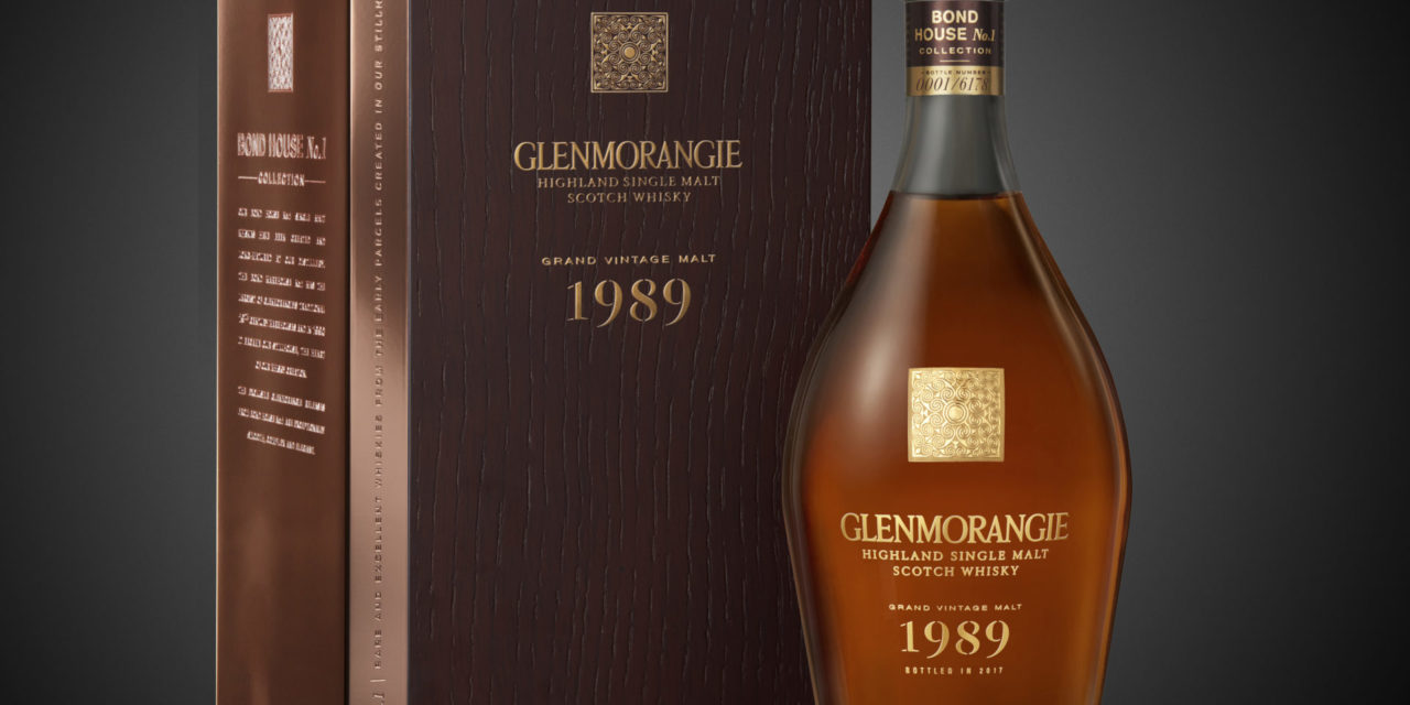 Glenmorangie Single Malt Whisky Announces Second Release in the Bond House No. 1 Vintage Collection – Grand Vintage Malt 1989