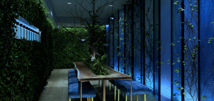 Dandelyan &  Bombay Sapphire Launch Botanical Suite at Mondrian London