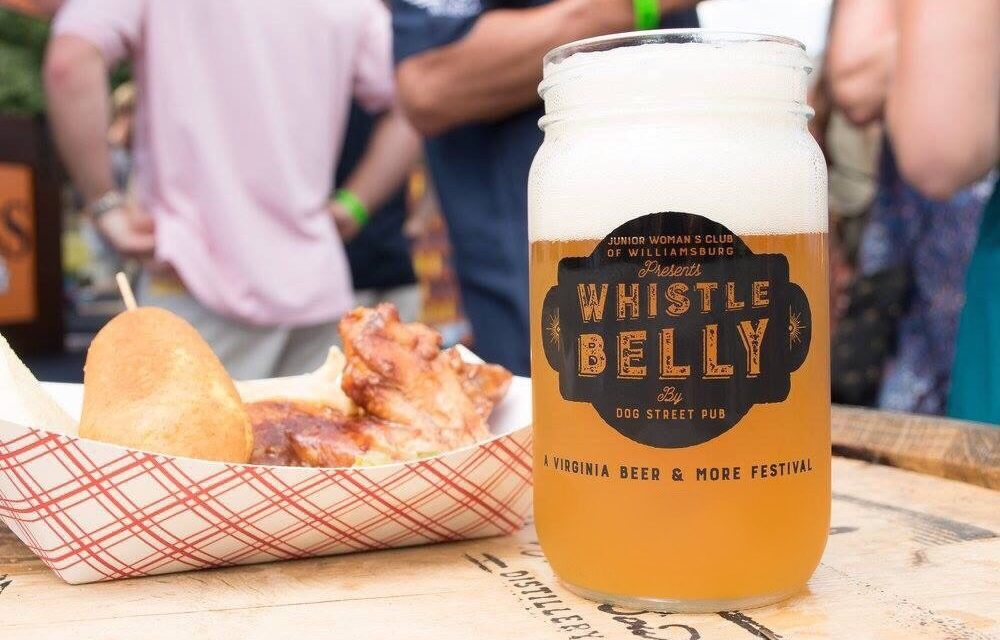 2018 Whistle Belly Beer Festival in Williamsburg, Virginia Supports Craft Beer and Community