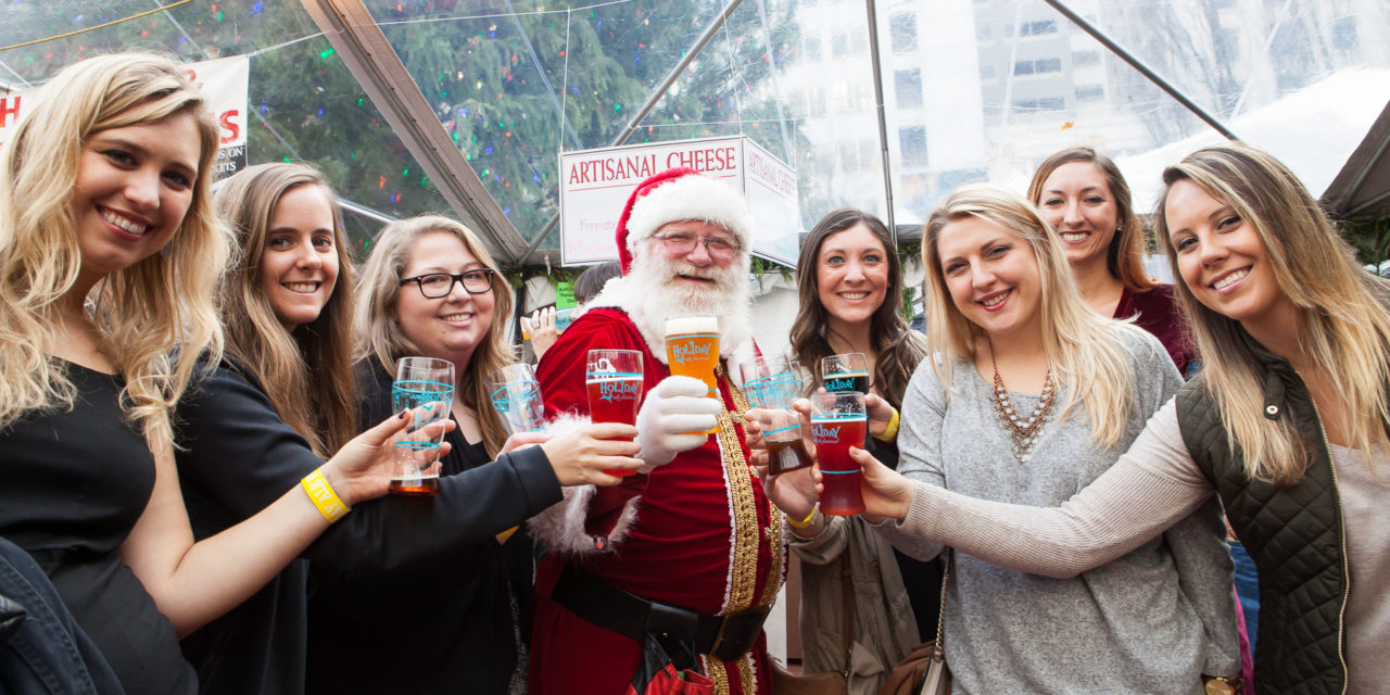 23rd annual Holiday Ale Festival presents exclusive lineup of specialty beers and ciders in the heart of downtown Portland