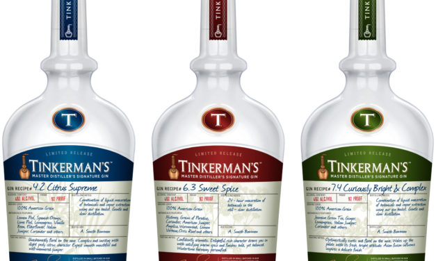 "A. SMITH BOWMAN DISTILLERY INTRODUCES TINKERMAN'S GIN Craft gin produced in limited quantities on copper pot still ""George"""