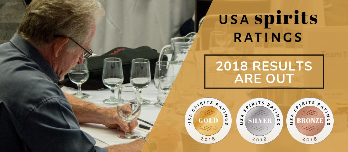 USA Spirits Ratings Announces 2018 Winners