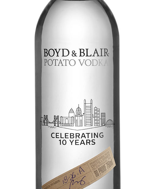 Boyd & Blair Potato Vodka Celebrates 10th Anniversary