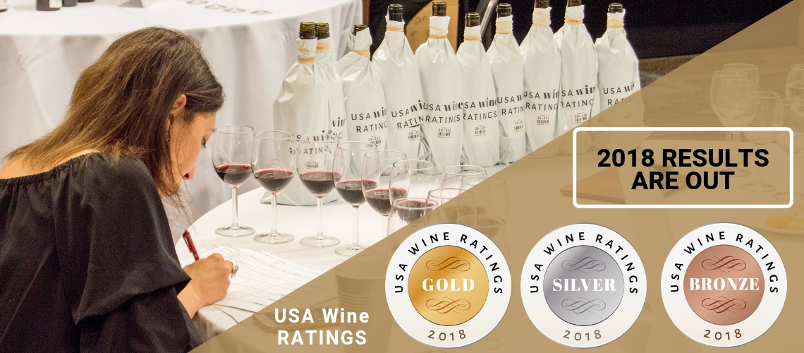 USA Wine Ratings Announces 2018 Winners