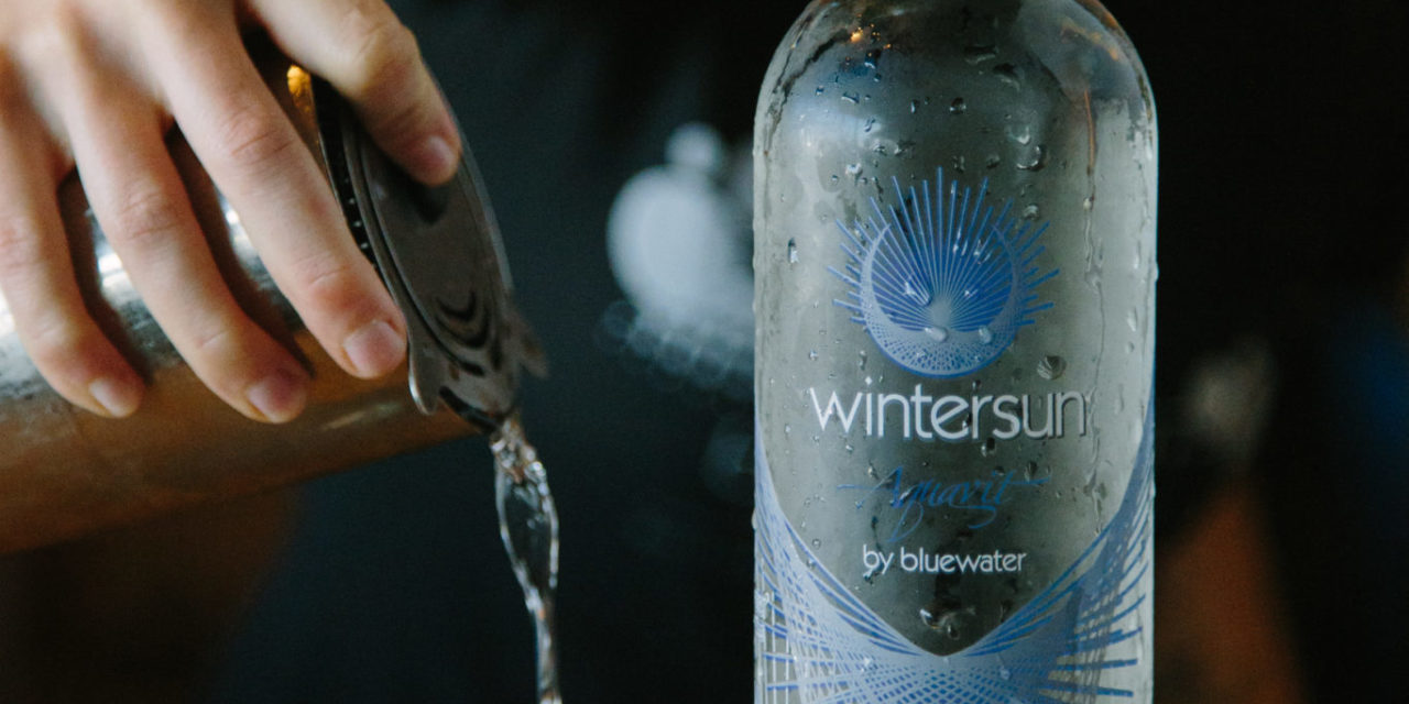 BLUEWATER DISTILLING LAUNCHES WINTERSUN ORGANIC AQUAVIT