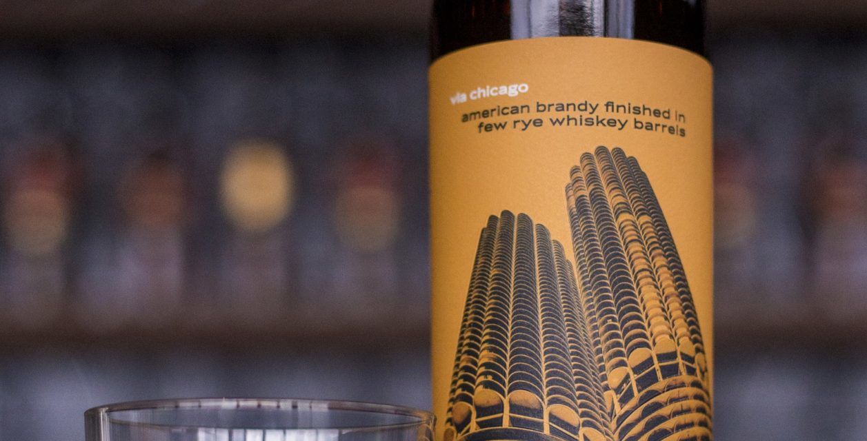 Copper & Kings American Brandy Co. Launches via chicago American Brandy Aged in FEW Rye Whiskey Barrels