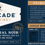 Cascade Brewing Introduces Primordial Noir to its Bottle Lineup