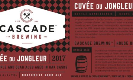 Cascade Brewing Releases Fan Favorite Cuvée du Jongleur for First Time in a Decade