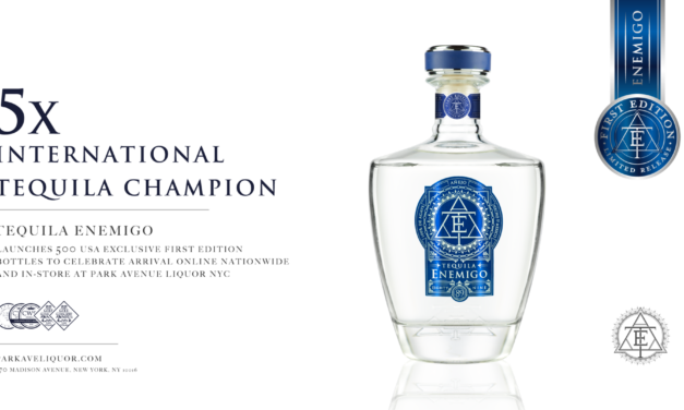 London's ultra-luxury award-winning Tequila brand flies exclusive 500 bottle pre-launch edition to New York due to overwhelming demand.