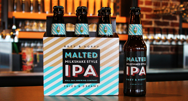 Hazy, Hoppy, Smooth, and Creamy: Full Sail Introduces their new Malted Milkshake-Style IPA