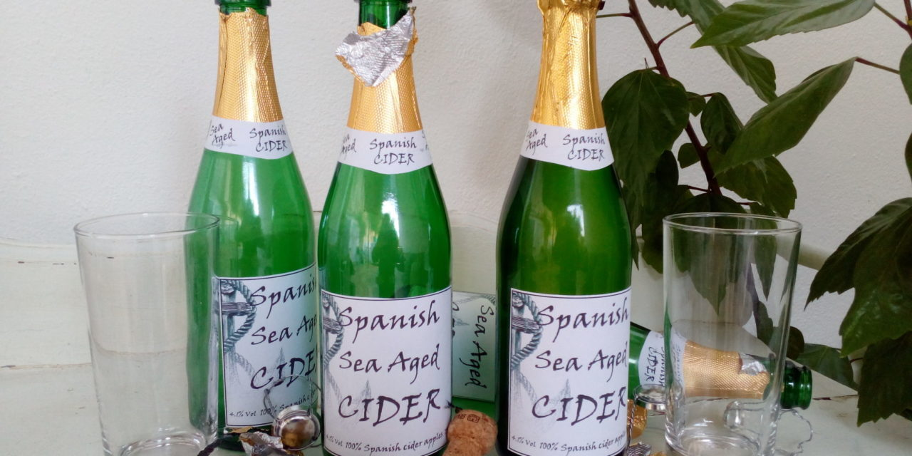 Sea Aged Cider has arrived…