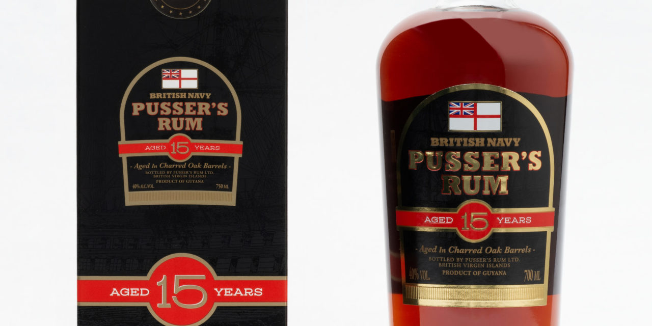 "It's Back, Pusser's 15-Year Old ""The Crown Jewel"" Reformulated and Repackaged"