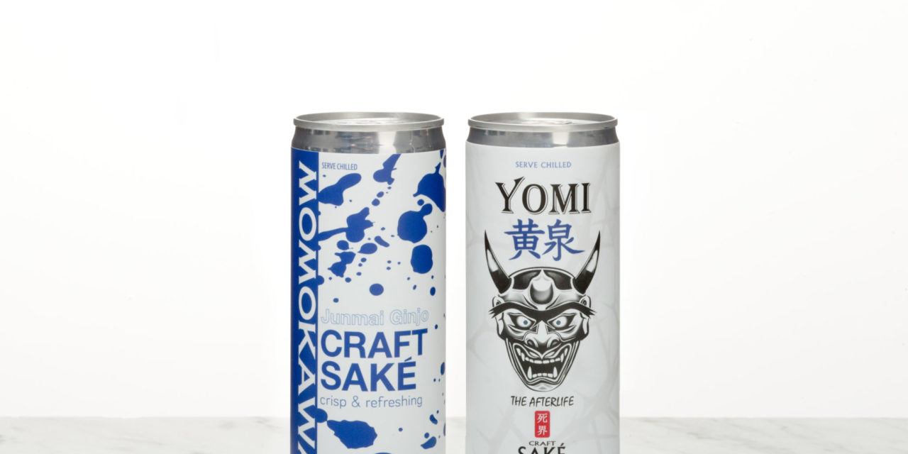 SakéOne Unveils Two New Canned Saké Products: Yomi and Momokawa
