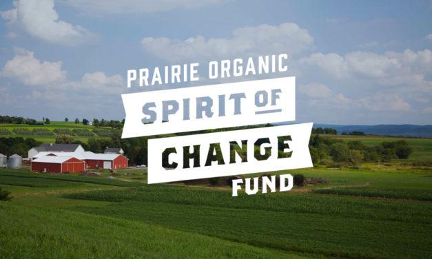 "PRAIRIE ORGANIC SPIRITS ANNOUNCES ""SPIRIT OF CHANGE FUND"" TO INCREASE INDUSTRY'S ENVIRONMENTAL IMPACT"