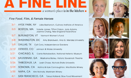 Distinguished Vineyards & Wine Partners to Sponsor Award-Winning Film, A Fine Line, Screening Tour Celebrating Women Chefs
