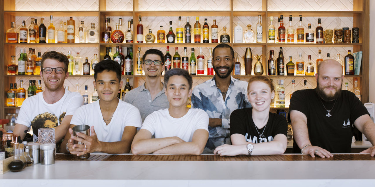 European Bartender School and Bacardi-Martini Group Create Initiative to Battle Unemployment