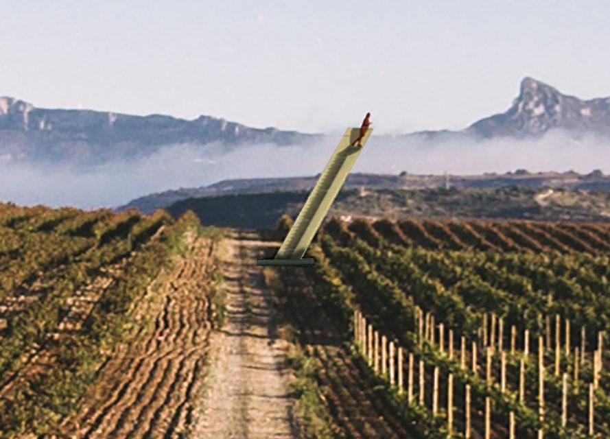 """Bodegas LAN Installs Rioja's First """"Stairway to Heaven"""""""