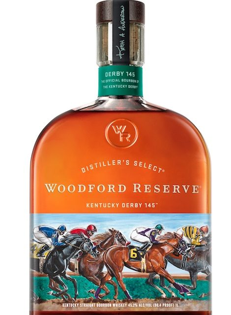 Woodford Reserve Releases 2019 Kentucky Derby Bottle, Announces 20th-Anniversary Exhibit at Frazier History Museum This year's bottle features the artwork of Brown-Forman's Keith Anderson