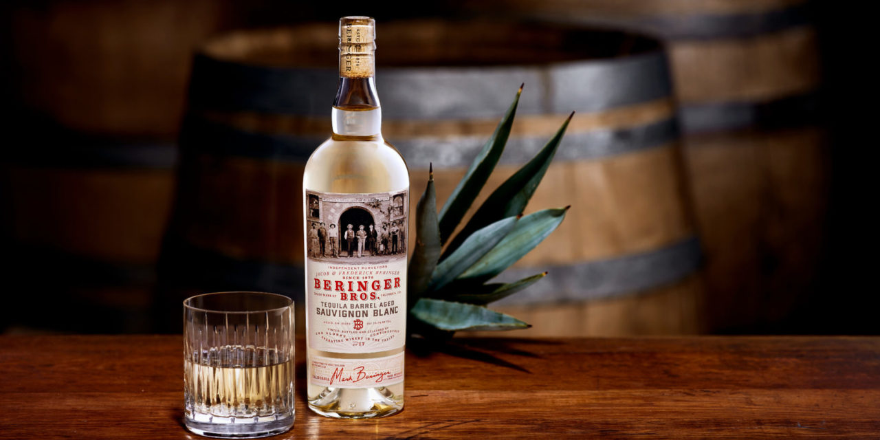 Beringer Brothers Introduces Sauvignon Blanc Aged In Tequila Barrels