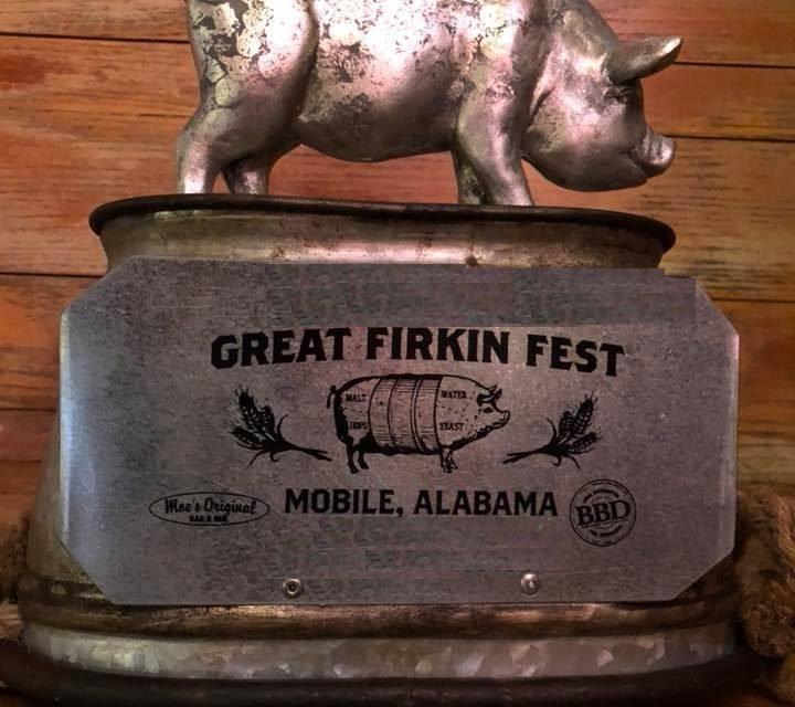 6th Annual Firkin Fest in Mobile, AL