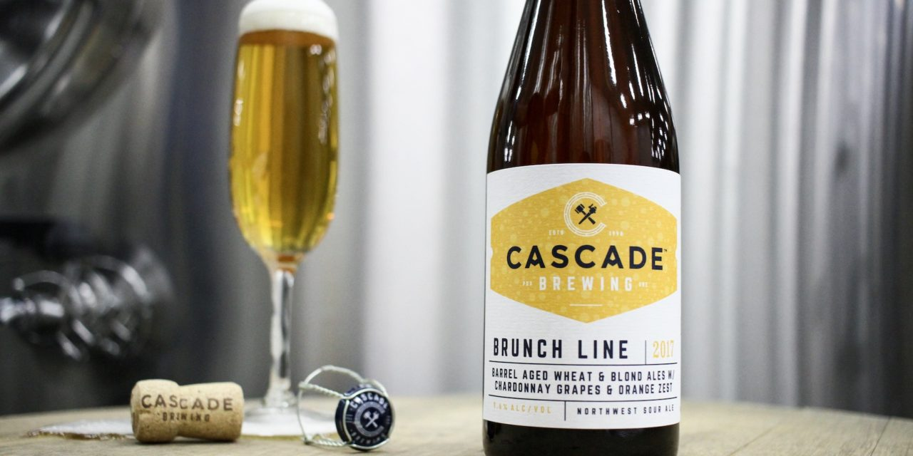 Cascade Brewing announces two bottle and draft releases in March: Brunch Line and Tropical Embers collaboration with Beachwood Blendery