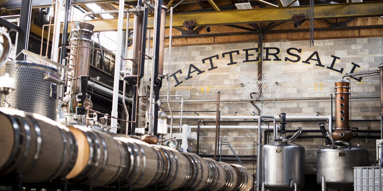 Tattersall Distilling Enters Four New States – Twin Cities-based distillery distribution reaches 22 markets