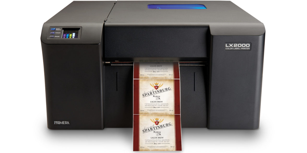 Primera Introduces LX2000 Color Label Printer