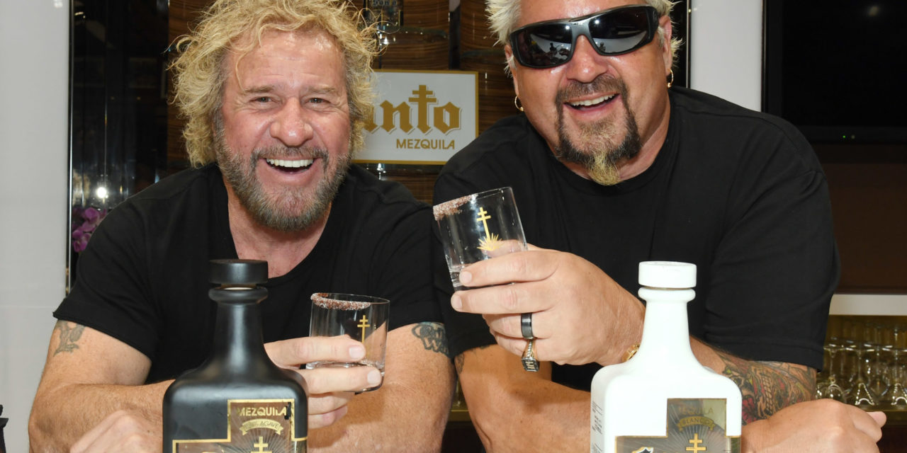Sammy Hagar and Guy Fieri Introduce Santo Fino Blanco Tequila and Los Santo Partnership