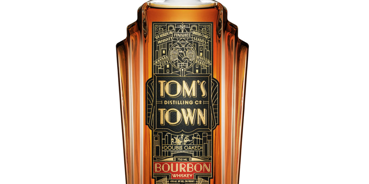 TOM'S TOWN DISTILLING CO. ANNOUNCES NEW DOUBLE OAKED BOURBON