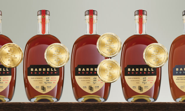 Barrell Craft Spirits Wins Double Gold Medals Once Again at the San Francisco World Spirits Competition