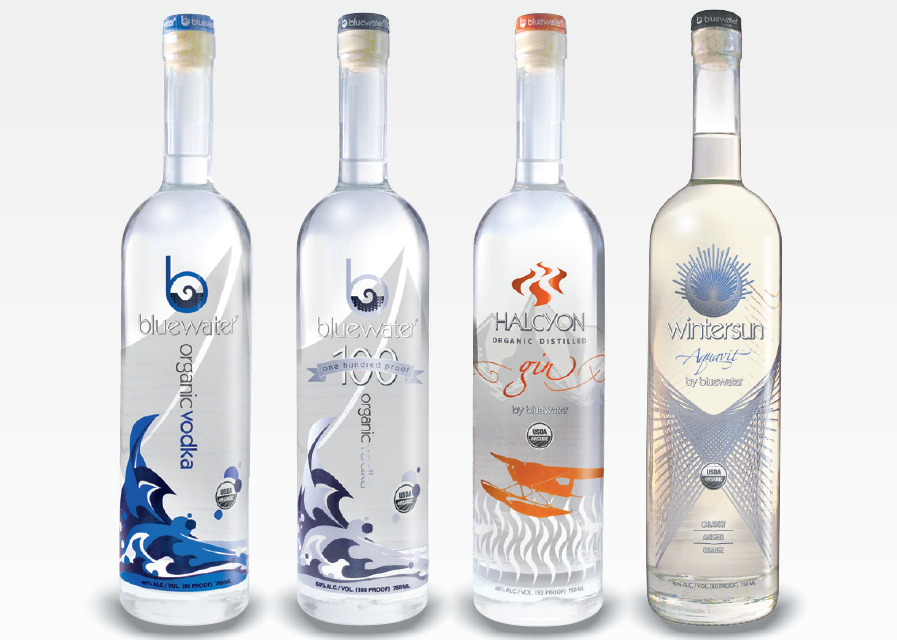 BLUEWATER DISTILLING PARTNERS WITH COLUMBIA DISTRIBUTING IN WASHINGTON AND OREGON