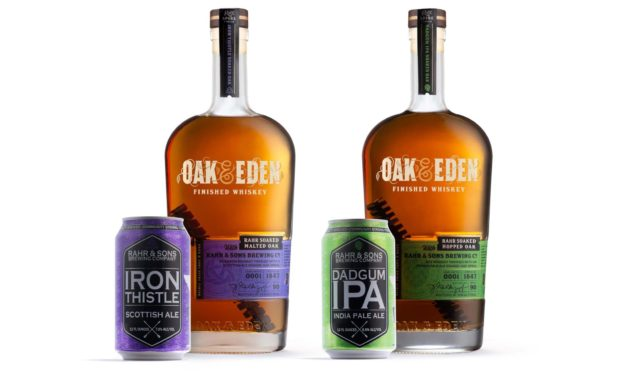 Beer Finished Whiskey is Foundation of Collaboration Between Indie Whiskey Producer, Oak & Eden, and Craft Brewer, Rahr & Sons