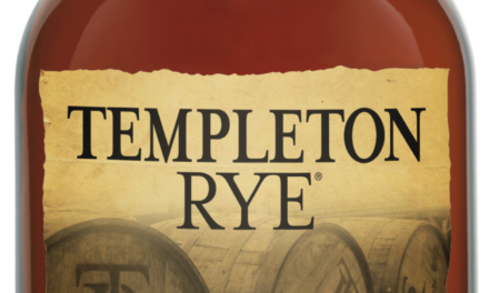 Templeton Rye Spirits' Barrel Strength Straight Rye Whiskey 2019