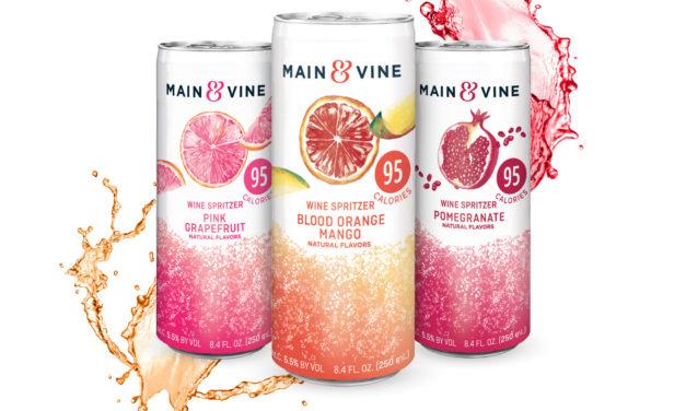 Main & Vine Wine Spritzers Launch In A Trio Of Flavors