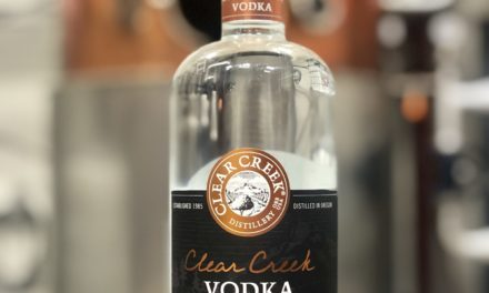 CLEAR CREEK DISTILLERY LAUNCHES NEW VODKA DISTILLED FROM APPLES