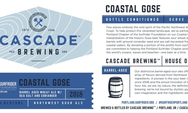 Cascade Brewing releases Ocean Views, its first canned beer, along with Coastal Gose in 500ml bottles and on draft